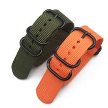 Ремешок нейлоновый для наручных часов браслет garmin fenix 6
