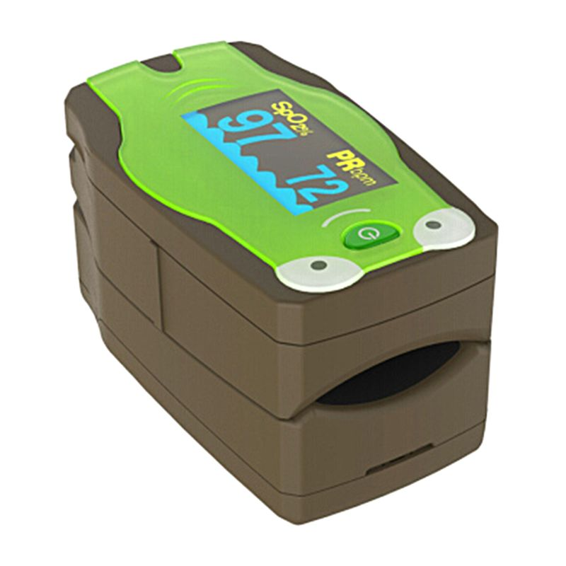 New Infant & Children Oximeter Fingertip Pulse Oximeters For Baby & Kids Blood Oxygen Saturation And Heart Rate Monitoring
