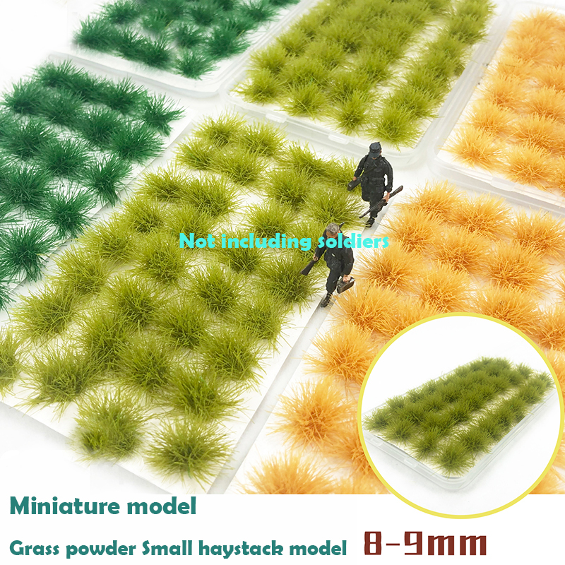 Miniature Model  Model Cocoon 8-9mm  Grass Powder  Small Haystack Model  Sand Table Scenario Simulation Materials