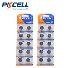 2PK/20 adet PKCELL 1.5V AG13 LR44 pil SR44 L1154 357 A76 düğme piller termometre