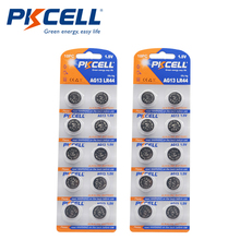 2PK/20Pcs PKCELL 1,5 V AG13 LR44 Batterie SR44 L1154 357 A76 Knopfzellen für thermometer