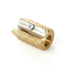 ERAL Travelers brass Pencil sharpener. School Supplies. Blade is from Germany, very sharp, durable, very retro.