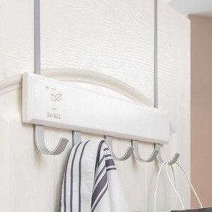Image 2 - נורדי סגנון ברזל כניסה אולם בגדי קולב קיר מתלה בגדי מדף קיר מעיל ארון מתלה בגדי קולב Stand