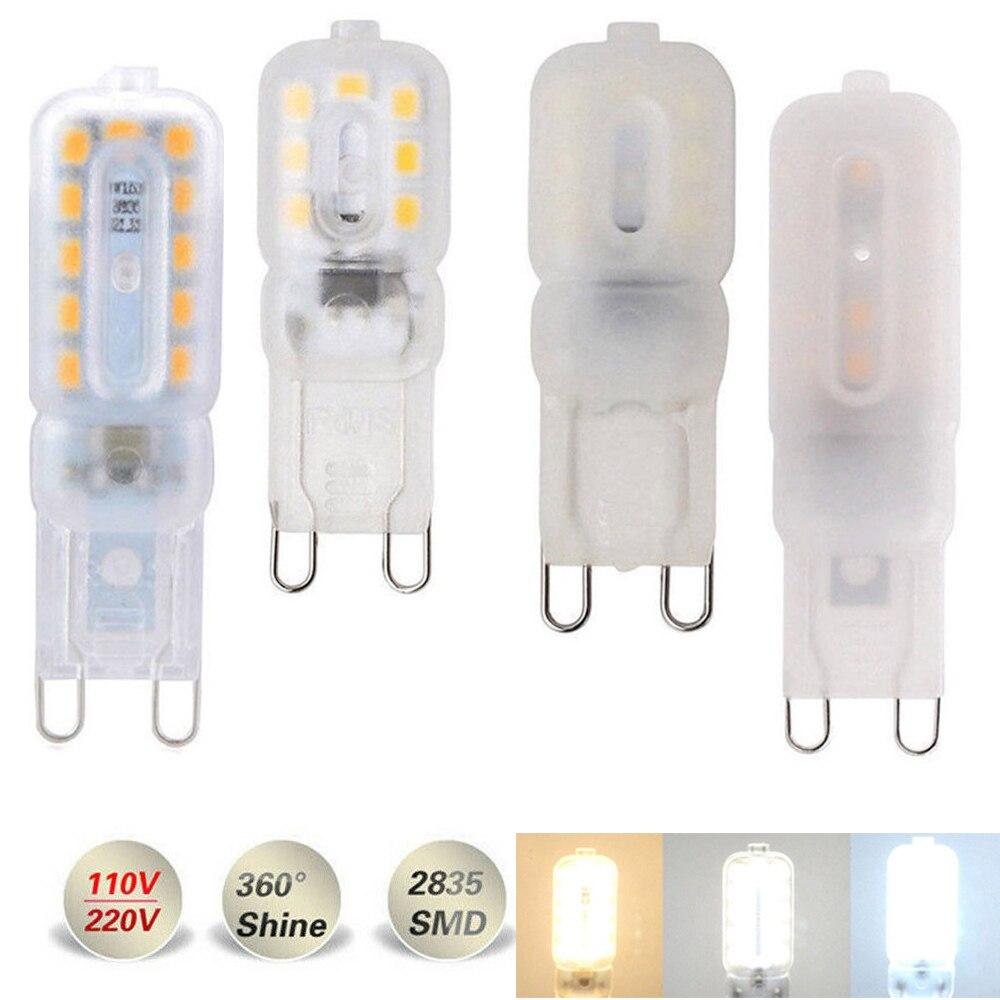 Dimmable Mini G9 3W 5W LED Corn Light SMD 2835 Bulb Spotlight For Chandelier Replace 30W Halogen 14LEDs 22LEDs Lamp 110V 220V