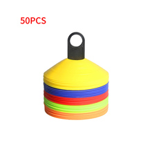 50PCS Outdoor Sports Rugby Football Training Sports Saucer C