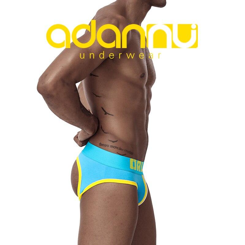 Sexy Underwear Men Briefs Cotton Men Bikini Gay Men Underwear Male Men Jockstrap Slip T Back Breathable Lingerie Man AD164