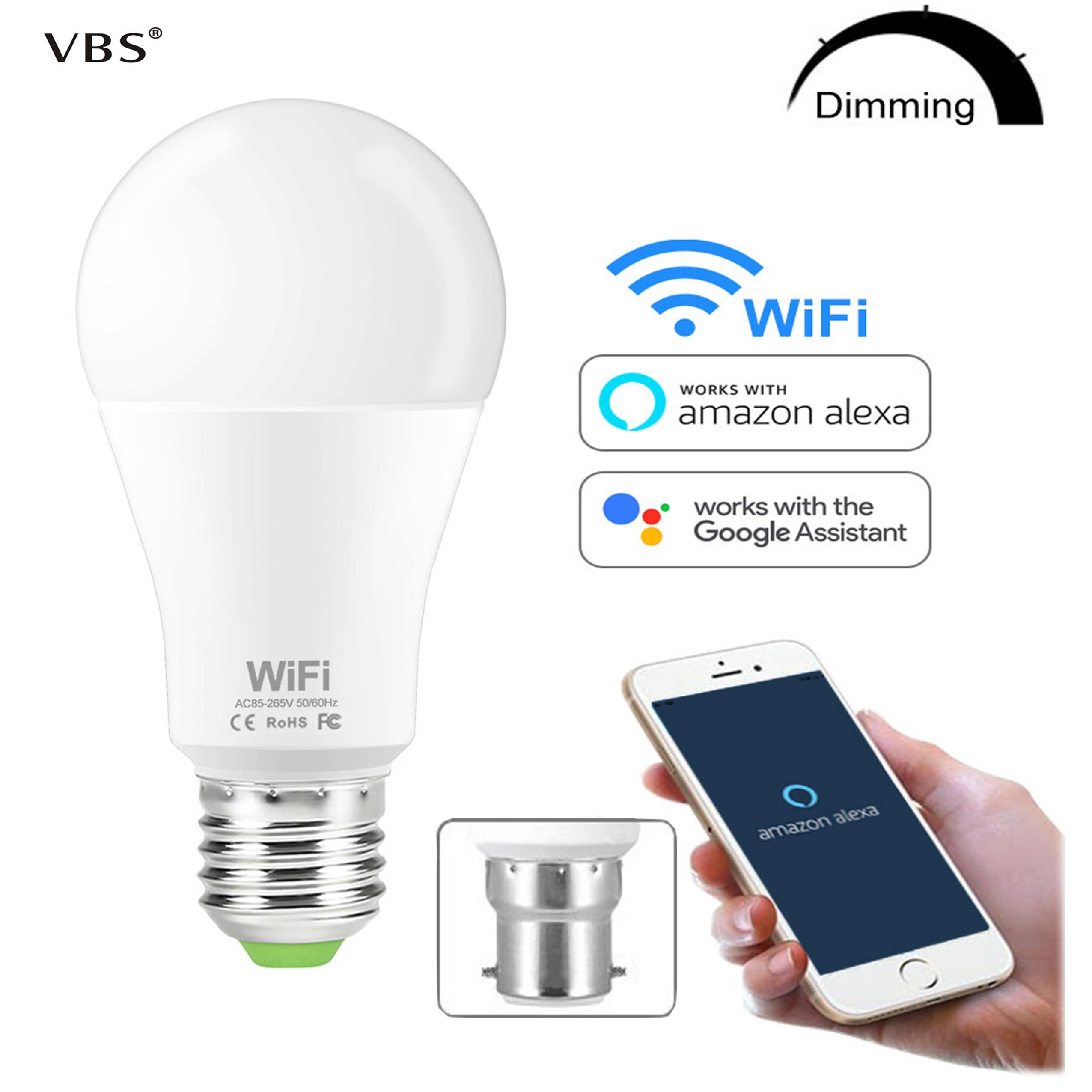 15 Вт умная WiFi лампа с затемнением яркости E27 база E26/B22 светодиодные лампы совместимы с Amazon Alexa Echo Google Home Assistant