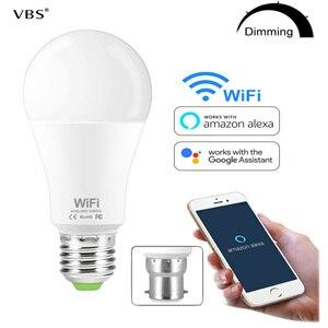 15W Smart WiFi Light Bulb Dimm