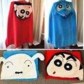 1 шт. плюшевое одеяло супер милый карандаш Shin-chan Ultraman Собака Плащ шаль-пелерина мягкая фланелевая офисная плюшевое полотенце подарок для дев...