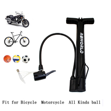 RBWORLD Bike Pump Bicycle Tire 120 PSI Portable Air Inflator Mountain Road MTB Cycling Accessories