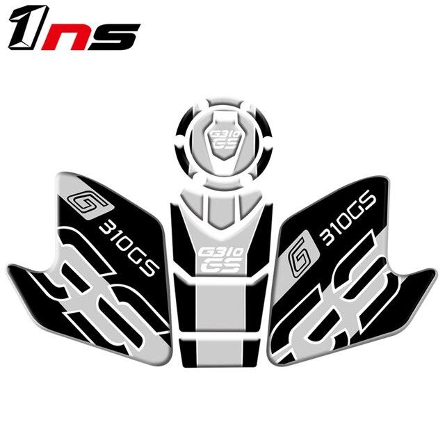 Pour BMW G310 GS G310GS G 310GS Moto accessoires véritable réservoir tampon gaz carburant autocollant Moto décalque emblème protecteur