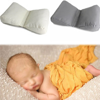 Infant Positioner flat head pillow protection Pillow for Photography Props Butterfly Wedge shaped PosingBaby Cushion