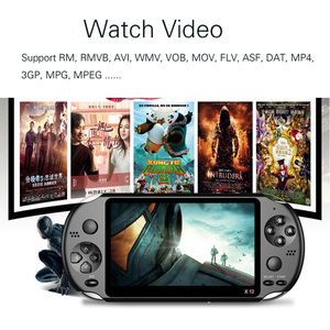 Image 3 - X12 Handheld Game Console 8G 32/64/128 Bit  HD Color LCD Screen 3000+ Games Kid Video Retro Portable Handheld Game Player on TV