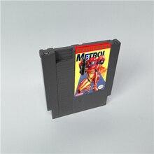 Série clássica metroided 72 pinos cartucho de jogo de 8 bits