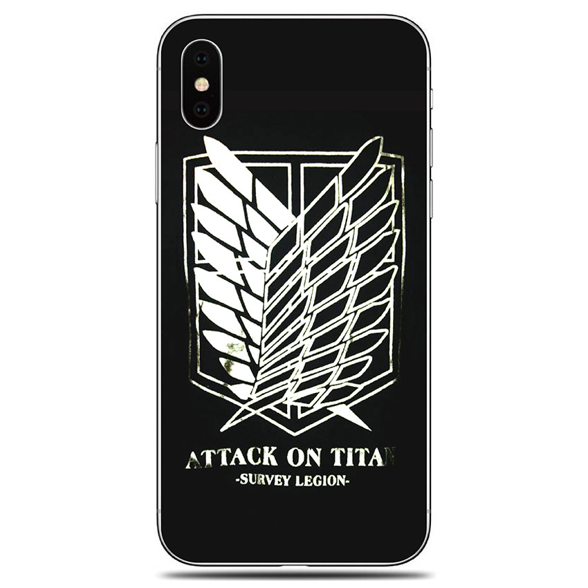 Cases For LG Stylo 4 5 G7 G8 G8s Thinq V50 K40 S K50 S K30 K20 2019 Q60 K11 W10 W30 Soft TPU Attack On Titan Pattern Phone Cover