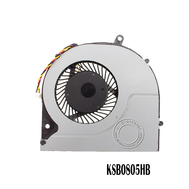 Laptop CPU Cooling Cooler Fan For Toshiba Satellite P50-AST2NX2 P50-AST3NX2 P50-AST3NX3 P50 S50 S55 S55t KSB0805HB CL1X