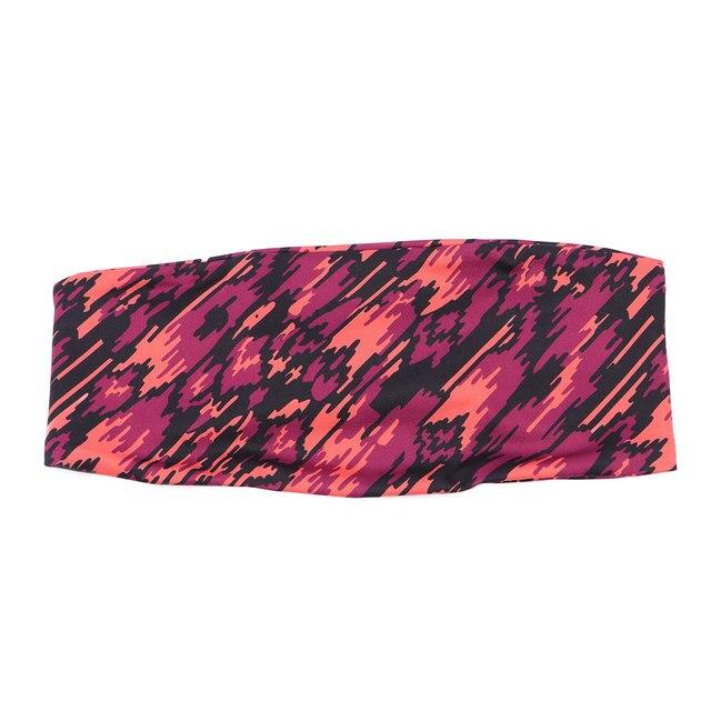 Unisex Running Cycling Yoga Head Belt Riding Basketball Sweat-absorbent Sweatband Headband Outdoor Sports 2