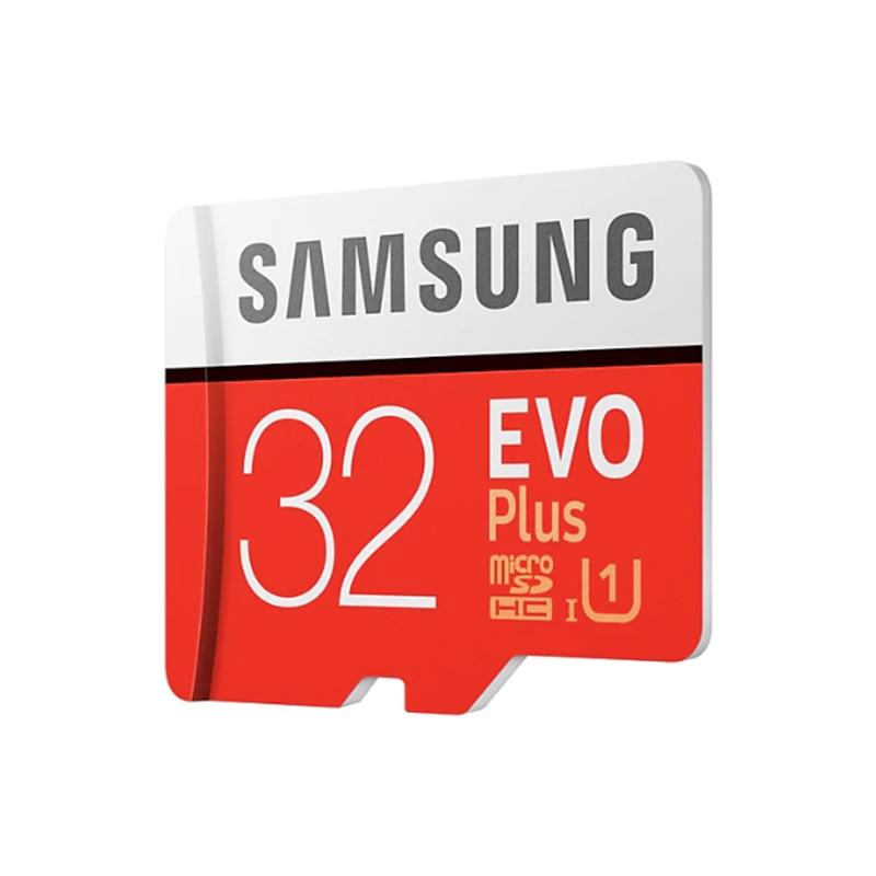 Image 2 - Карта памяти SAMSUNG Micro SD EVO PLUS 256 ГБ 128 Гб 64 ГБ 32 ГБ SDHC SDXC класс 10 C10 UHS 1 TF карты транс флэш 4K microsd-in Карты памяти from Компьютер и офис on AliExpress - 11.11_Double 11_Singles' Day