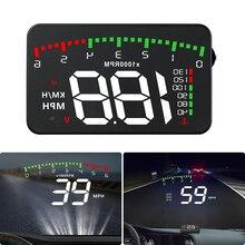 A900 автомобильный HUD OBD RPM метр на голову дисплей автомобильные аксессуары мульти-дисплей Автомобильный цифровой скорость RPM температура воды