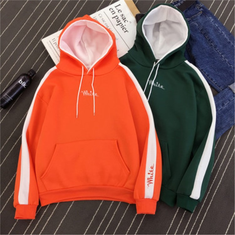 Hoodie Women's 2019 Autumn And Winter New Style Plus Velvet Long Sleeve Hoodie Loose-Fit Korean-style Couple Clothes Jacket