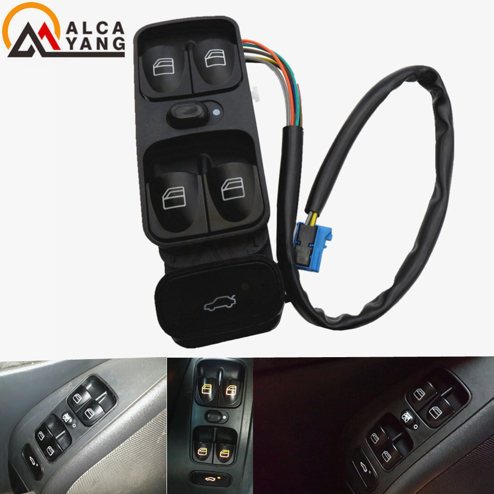 A2038200110 NIEUWE Power Control Window Switch Voor MERCEDES C KLASSE W203 C180 C200 C220 2038210679 A2038210679
