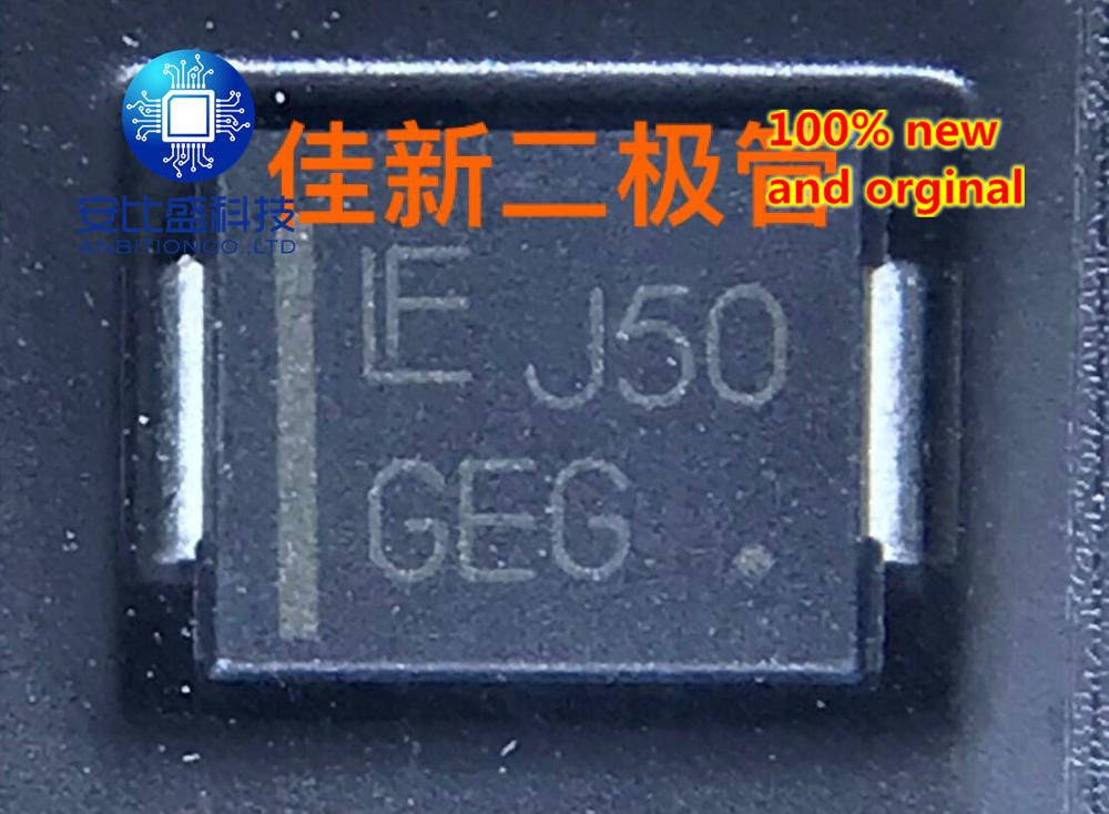 30pcs 100% New And Orginal 1SMC13AT3G 1.5SMC16AT3G Original Imported Car TVS Diode Screen Printing GEG   In Stock