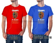 CAVS T-SHIRT 2018 EASTERN CONFERENCE CHAMPIONS CAVALIERS Red & Royal Blue EM2(1)(China)
