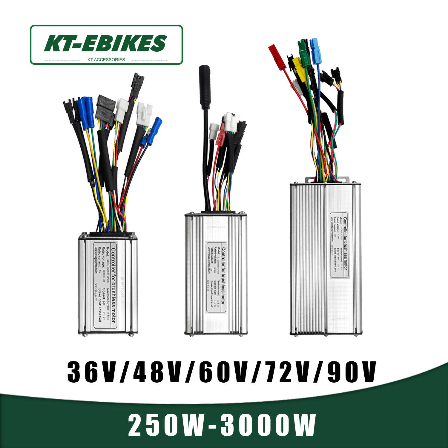 Brushless Motor Controller Electric Accessory for Mountain Bicycle 36V//48V 1000W//1500W NOBRAND Motor Controller