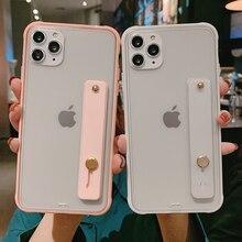 Shockproof Bumper Transparent Phone Case For iPhone