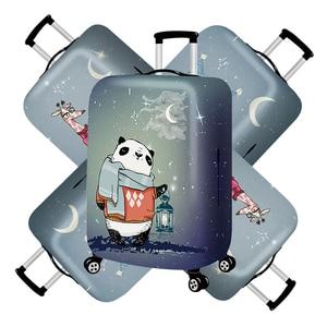 Fashion Owl Travel Luggage Cov