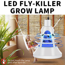 220V Grow Light USB Plant Growing Lamp E27 LED Tent Bug Zapper Full Spectrum Fly Killer Insect Trap 8W