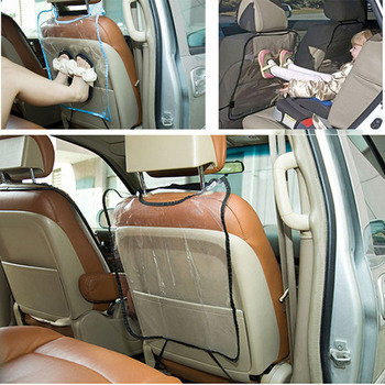Car Children Seat Anti Kick Pad Covers For Audi A3 A5 A4 B5 B6 B8 A6 C5 C6 Q3 Q5 BMW E46 E39 E90 E36 E60 E34 E30 F30 F10 X5 E53 image
