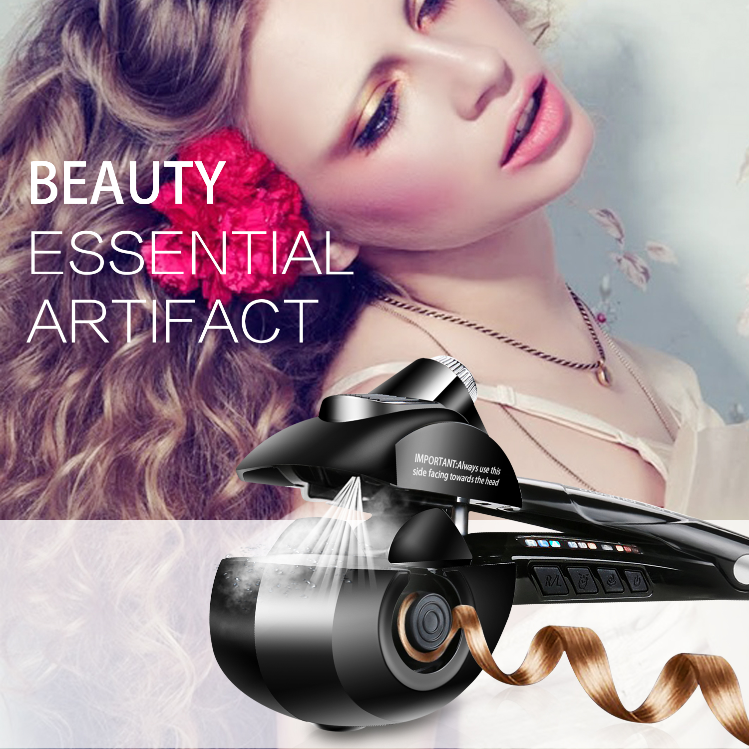 Roller, Curling, Iron, Cheap, Auto, Factory