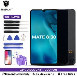 ЖК-экран AAA + для Huawei Mate 30, 20, RS 10, P 8, OEM, без битых пикселей, черный дисплей, дигитайзер в сборе, замена телефона, подарок