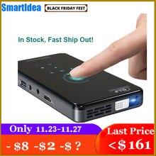 SmartIdea X2 HD Portatile Proiettore DLP Android 7.1 Wifi bluetooth 4.1 Pico Pocket Proiettore HD Portatile Beamer Miracast Airplay