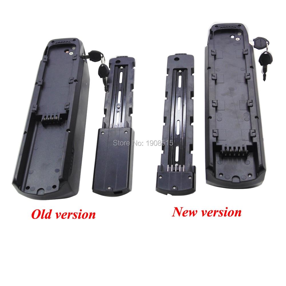 New Jumbo Shark Hailong Polly Tube Ebike Frame 36V 48V 52V Battery Box  Ebike Battery Case For 52pcs 65pcs 70pcs Of 18650 Cells
