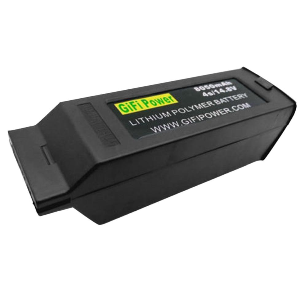 GIFI Power 8050mAh Большая емкость батареи 14,8 V 4S модернизированная Замена Lipo аккумулятор для беспилотника батарея для Yuneec Typhoon H H480