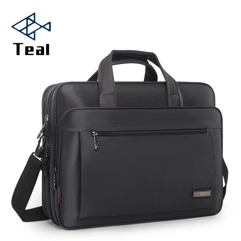2020 New Men Business Laptop Briefcase Shoulder Bag 15 Inch Waterproof Nylon Notebook Messenger HandBag For Men 15 Laptop Bag