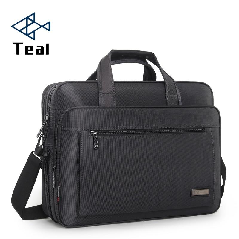 2020 New Men Business Laptop Briefcase Shoulder Bag 15 Inch Waterproof Nylon Notebook Messenger HandBag For Men 15 Laptop Bag