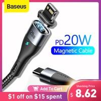 Baseus-Cable USB tipo C para iPhone, Cable de carga rápida PD de 20W para iPhone 12 7 Xr 11 Pro Max