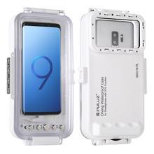 PULUZ 45 m/147ft sous marin étanche Photo vidéo prise de plongée étui pour Galaxy, Xiaomi, Android OTG Smartphones avec Port type c