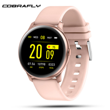 Cobrafly Smart Watch for women men with pressure measurement Activity Fitness bracelet health watch Android IOS pk CF18 q9