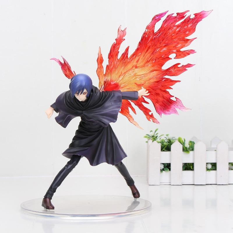 Anime Tokyo Ghoul Touka Kirishima Kaneki Ken PVC Action Figure Toys  Tokyo Ghoul Figure  Model
