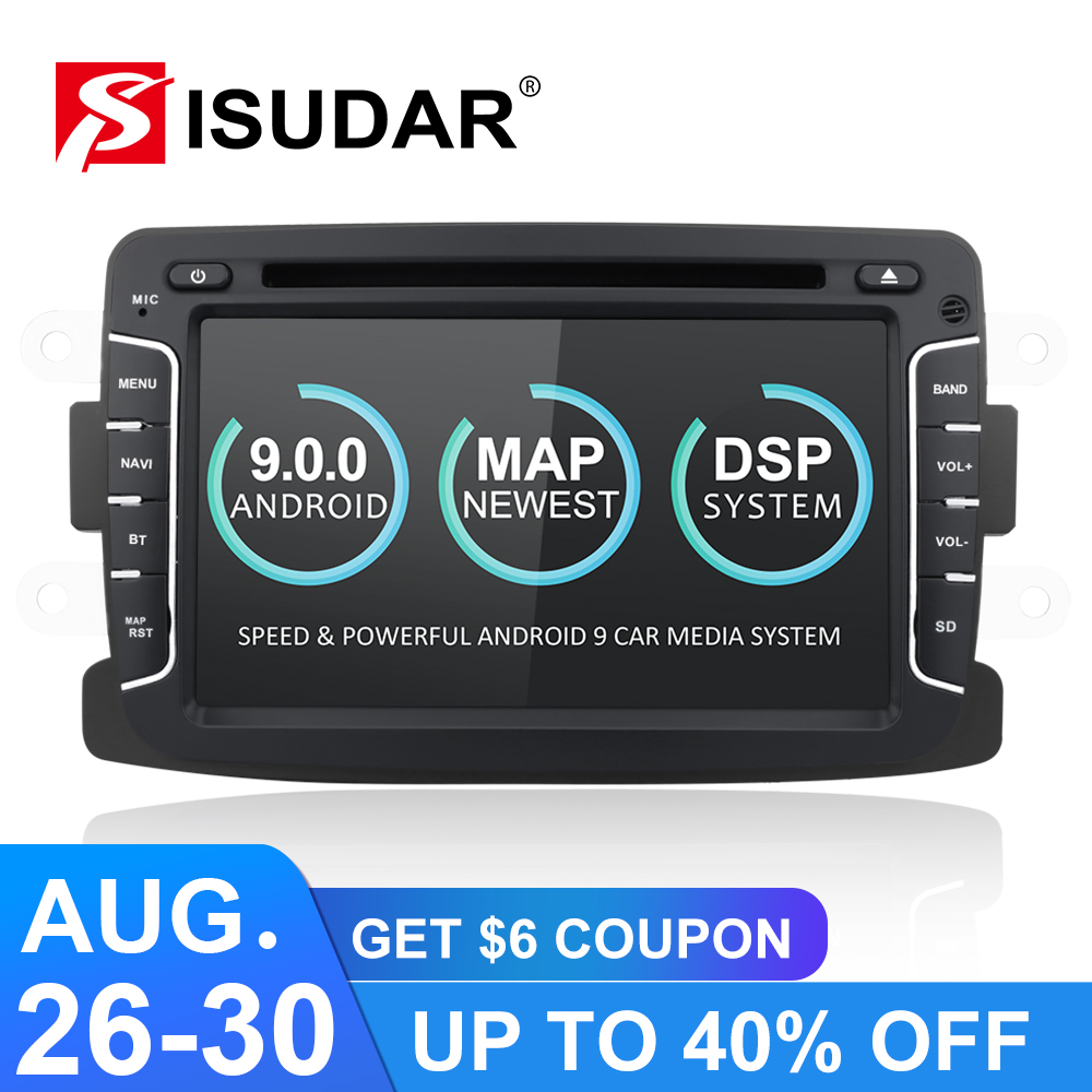 Isudar Multimedia-Player Lada/xray Android 9 2-Din 2/logan Car 2G Automotivo 2-Gsp