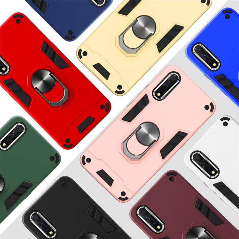Luxury Armor Shockproof <font><b>Case</b></font> For <font><b>VIVO</b></font> Y91 Y91C Y91i Y93 Y95 Y90 Y83 Pro Y19 Y17 Y15 Y12 Y11 Y3 <font><b>Y53</b></font> Y81 Y83 Y9S Y5S <font><b>Case</b></font> Cover image