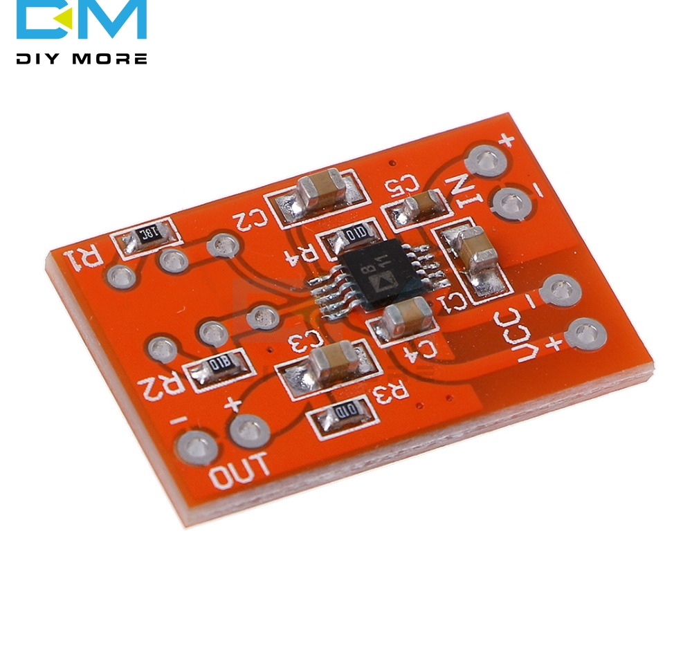 DC 3V 5V SSM2167 Microphone Preamplifier Board Module Low Noise Voltage COMP Compression Mono Preamp For Audio Signal Chains