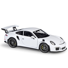 19.5cm DieCast 1:24 Scale Simulator Model Car Alloy 2016 911 GT3 RS Sports Car Model Metal Toy Racing Car for Kids Gifts цена и фото