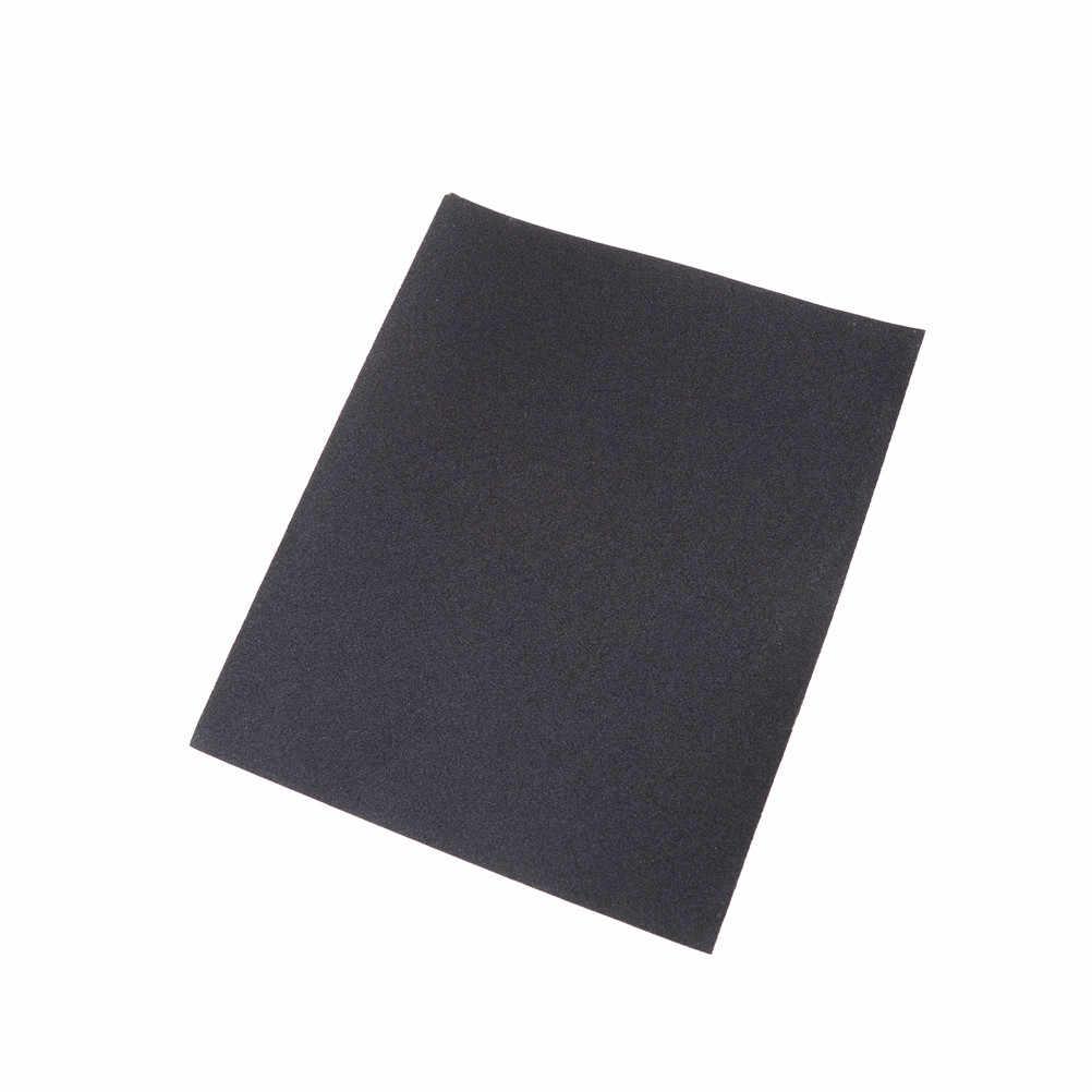 Folhas de polimento lixa impermeável grit emery abrasivo papel 180-2000 # molhado seco areia papel de madeira abrasivo