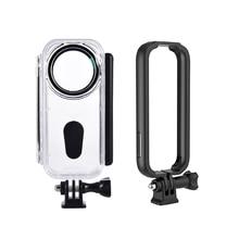 Водонепроницаемый корпус для Insta360 ONE X панорамная камера для дайвинга 5 м подводное плавание экшн-камера для Vlog Live Streaming