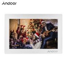 Andoer 10 дюймовая цифровая фоторамка с полным обзором ips Экран 1080P цифровых носителях рекламы 1200*800 Разрешение Поддержка воспроизведение в случайном порядке